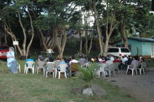 Evangelistic Campaign in Campanario.