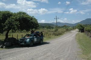 Heading to Valle de la Cruz