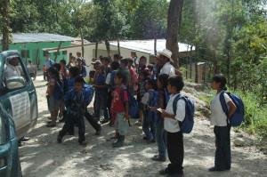 El Zapote students