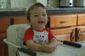 Isaac Gavarrete, 10 months