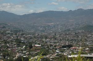 Tegucigalpa, Capital of Honduras.  Where the Laws are made.
