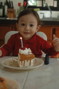 Praise the Lord for Isaac first birthday!