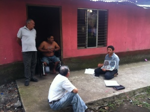 Door to Door Evangelism in El Eden Our Village