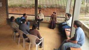 Meeting with Clinic Staff