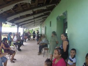 Health Brigade in Valle de la Cruz