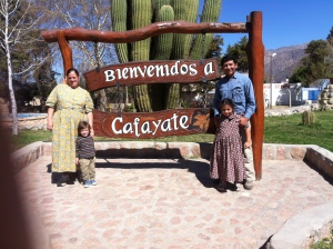 Welcome to Cafayate the town of the wine