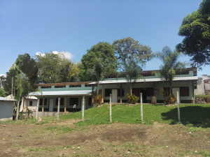 Frontal view of School House