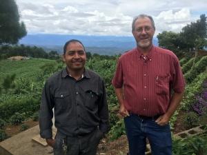 Esdras Palacios and David Yoder in Carrizal