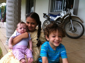 Ruth, Isaac and Hadassah Gavarrete