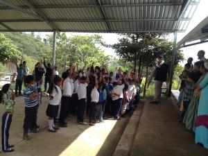 Sharing at La Danta #1