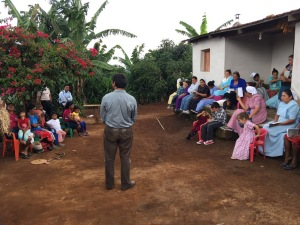 Service at Suyapa's house