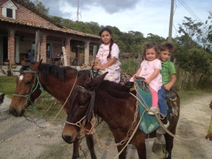 Horse ride in Tambla Lempira